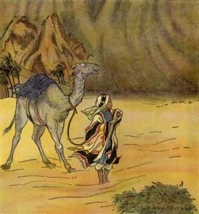 Tormenta en el desierto