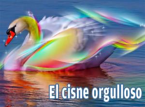 El cisne orgulloso