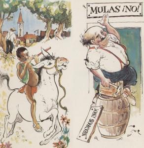 Mulas, no