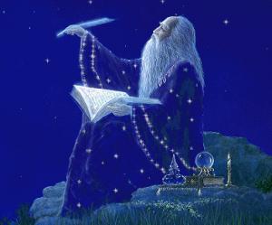 El mago merlín