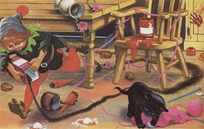 Gabolino el gatito embrujado