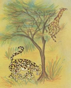 La jirafa presumida