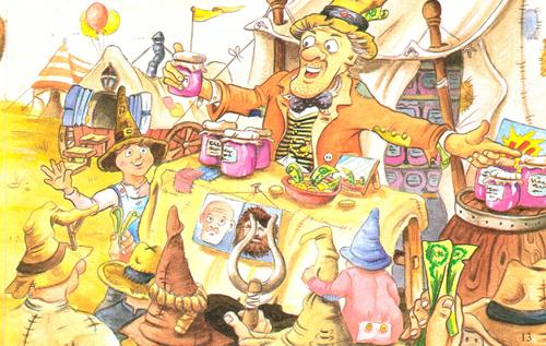 Palitroque y la caravana mágica