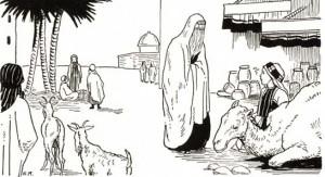 Mujer arabe