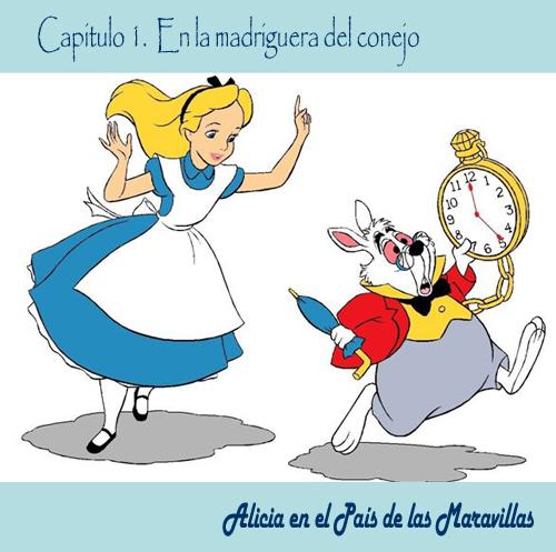 Alicia en el pais de las maravillas cuentos infantiles - Conejo de alicia en el pais de las maravillas ...