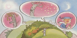 El árbol del matorral