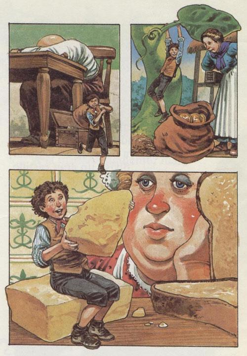 Juan y las Habichuelas - Cuentos infantiles