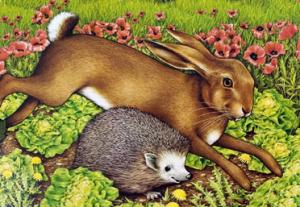La liebre y el erizo