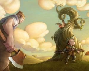 Las habichuelas mágicas