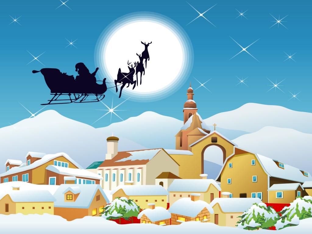 Imagenes De Papa Noel De Navidad.La Navidad De Papa Noel Cuentos Infantiles
