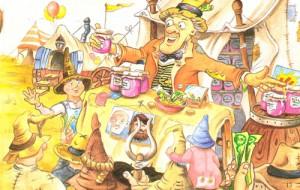 Palitroque y la caravana magica