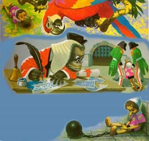 Pinocho y sus amigos